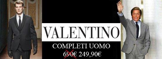 reputable site 905b4 c5bcc Valentino - Completi Uomo a 249,90 euro - Buy&Benefit