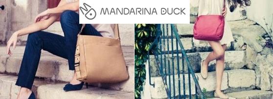 Mandarina duck borse tracolle portafogli portamonete a prezzi scontati buy benefit - Mandarina home online ...