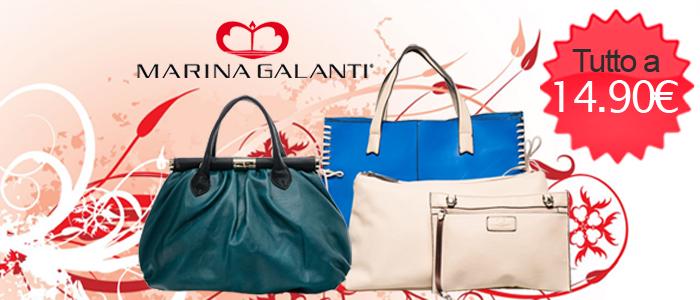 Collezione borse Marina Galanti a prezzi pazzi Buy&Benefit
