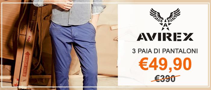 40353b5f9c01 tre-pantaloni-avirex-a-soli-e49-90-invece-