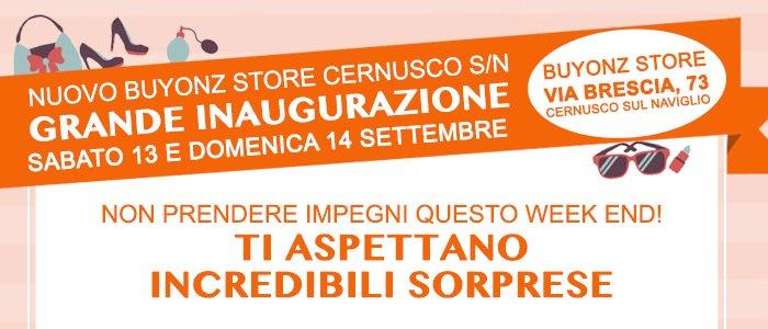 Inaugurazione-Buyonz Store-Cernusco-sul-naviglio