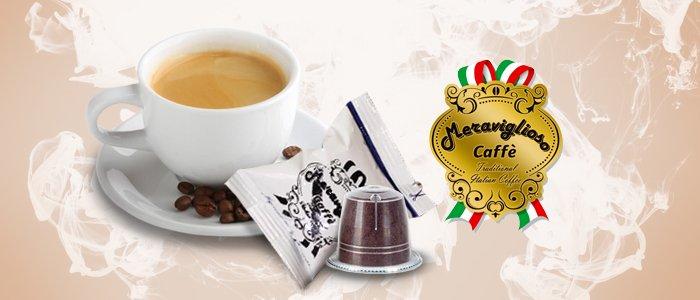 Caffè Meraviglioso Capsule compatibili Nespresso