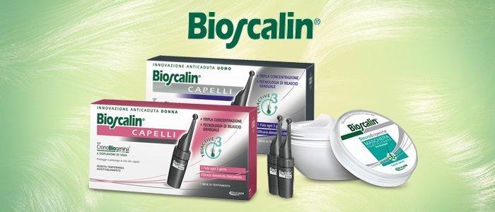 BioScalin trattamenti per capelli.