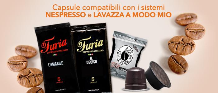 capsule compatibili nespresso e lavazza a modo mio buy benefit. Black Bedroom Furniture Sets. Home Design Ideas