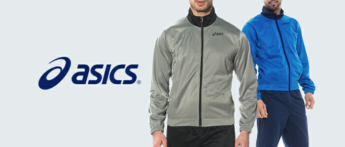 7df8800ac7 Tuta uomo Suit Victor colore Rosso Blu - Asics - SportIT.com;