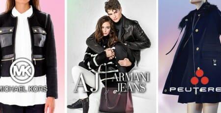 Armani Jeans, Michael Kors e Peuterey ultimi pezzi
