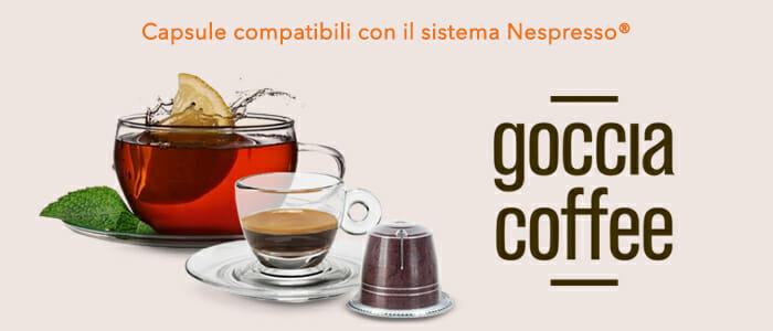 Tisane e Caffè compatibili con sistema Nespresso