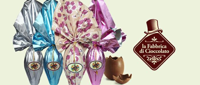Uova di Pasqua La Fabbrica di Cioccolato