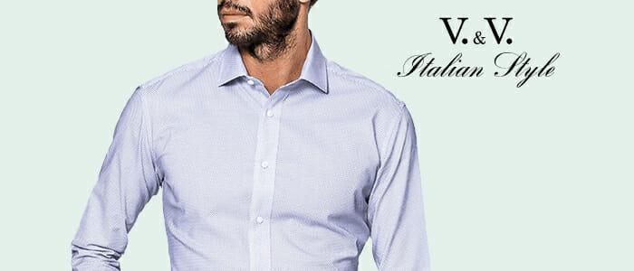 Camicie sartoriali V&V Italian Style
