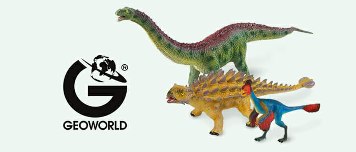 Geoworld giocattoli Dinosauri