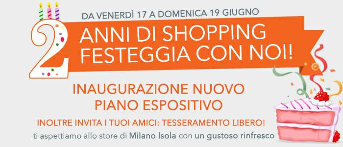 Buon Compleanno Store Milano Isola
