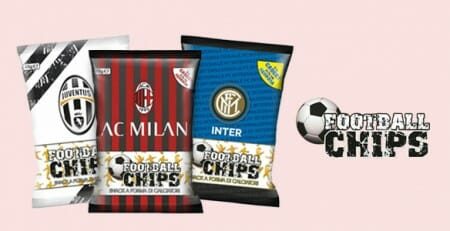 Football Chips - snack a forma di calciatori