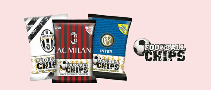Football Chips - snack a forma di calciatori