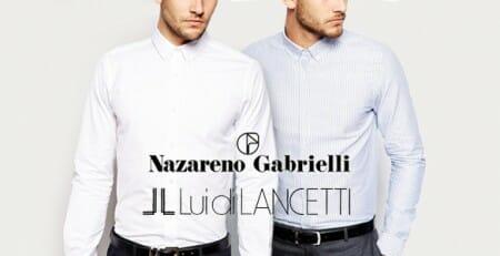 Camicie Lui Di Lancetti e Nazareno Gabrielli