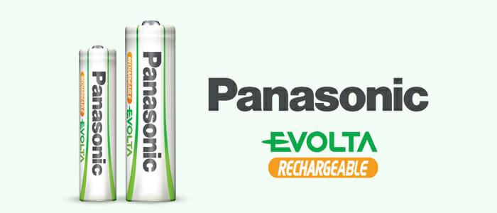 Panasonic Batterie Ricaricabili Evolta