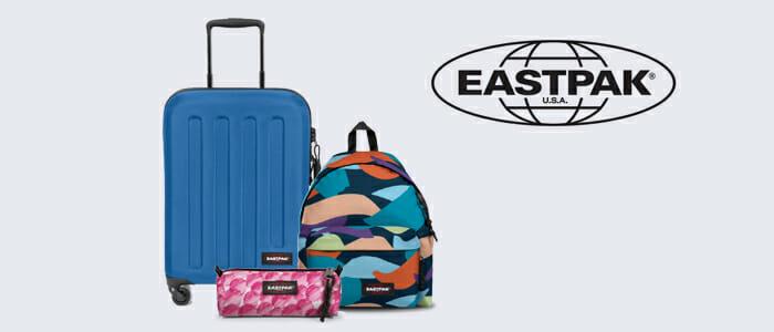 Eastpak: trolley, zaini, tracolle e tanti accessori