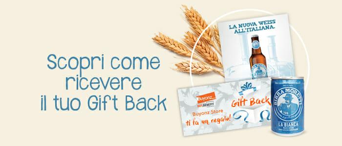 Gift Back Birra Moretti