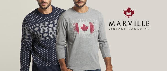 miglior sito web b2ccb beb30 Marville felpe, maglie e pullover uomo - Buy&Benefit
