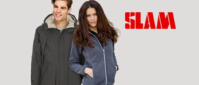 SLAM giacche, felpe e pile