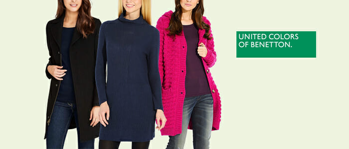 new concept deb71 d0019 United Colors of Benetton: abbigliamento e accessori donna ...