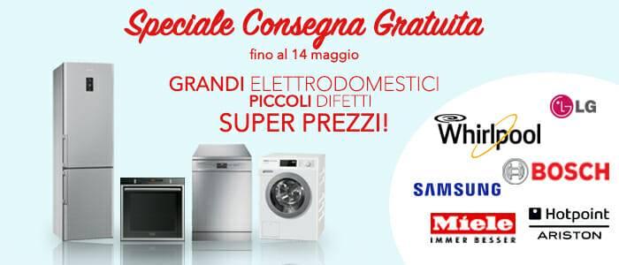 Speciale Consegna Gratuita Grandi Elettrodomestici - Buy&Benefit