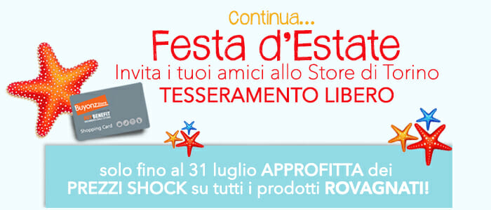 Festa d'Estate Store Torino