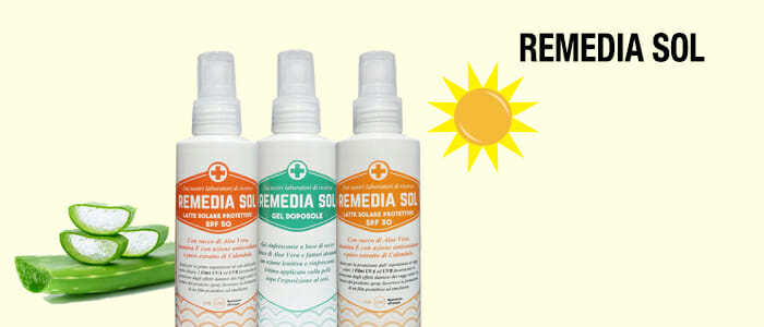 Remedia Sol: latte solare e gel doposole