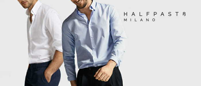 HALFPAST8® camicie uomo
