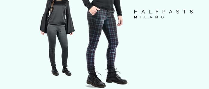 HALFPAST8® pantaloni donna