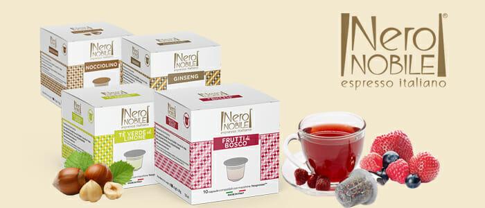 NeroNobile: tè e caffè capsule compatibili Nespresso