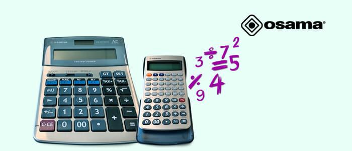 Osama calcolatrici