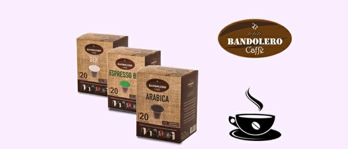 Promozione Bandolero Caffè capsule compatibili Nespresso
