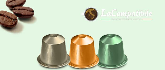 Promozione La Compatibile Capsule per Sistema Nespresso