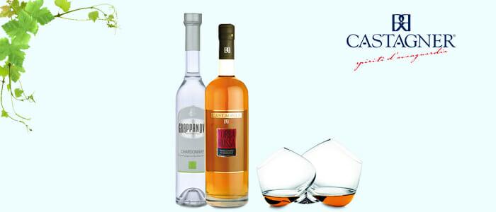 Roberto Castagner Grappe: Torba Rossa e Chardonnay