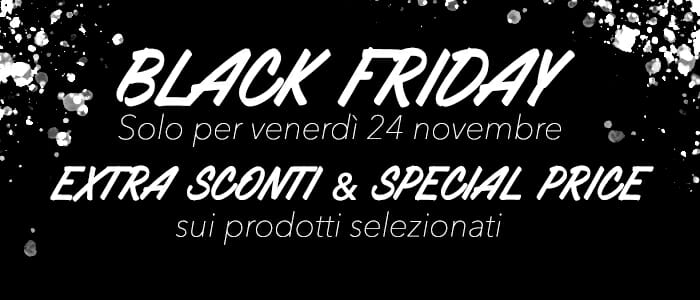 Black Friday: inizia lo Shopping Natalizio!