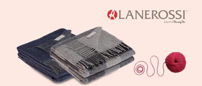 Lanerossi: Plaid 100% Lana Vergine