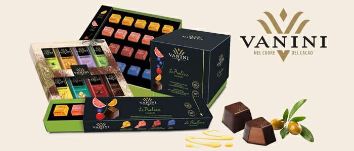 Vanini cioccolato: confezioni regalo