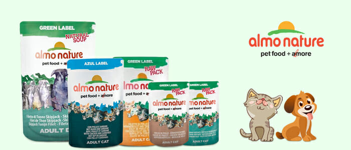 Almo Nature cibo per cani e gatti
