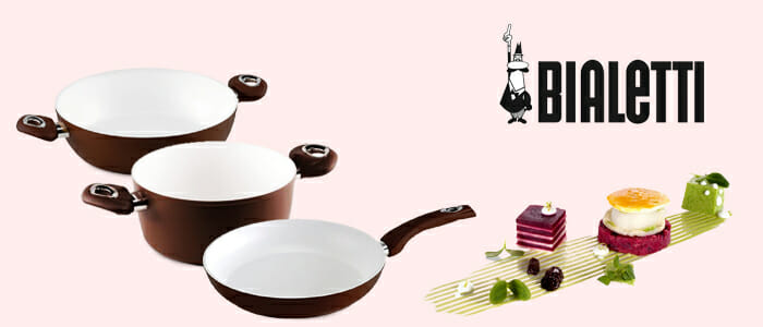 Bialetti pentole Ceramic Ok cottura a induzione