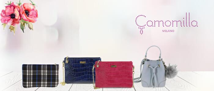 Camomilla Milano borse, pochette e portafogli