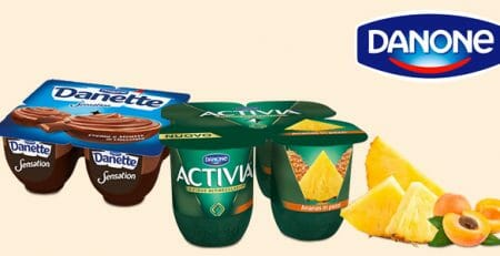 Danone dessert e yogurt