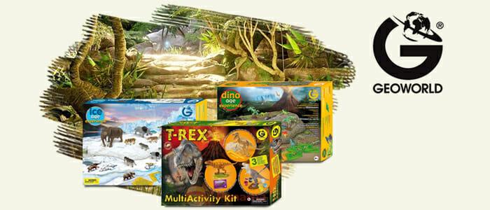 Geoworld: dinosauri giocattoli