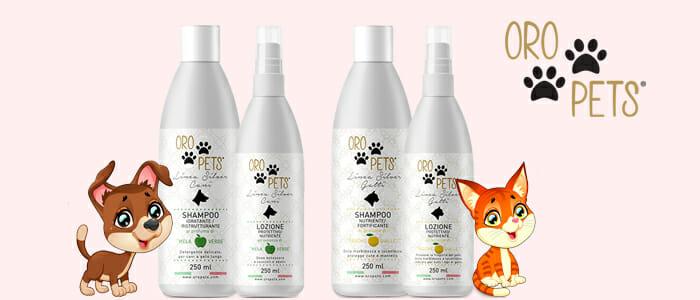 OroPets cosmesi gatti e cani