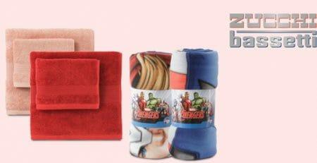 Zucchi & Bassetti: plaid Marvel e tessili casa