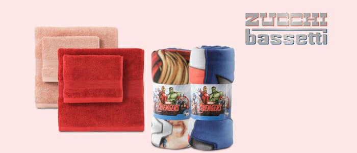 Zucchi bassetti plaid marvel e tessili casa buy benefit for Bassetti milano