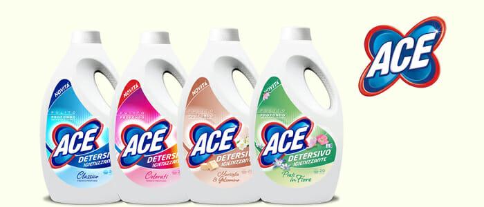 ACE Liquido Lavatrice: 20 lavaggi