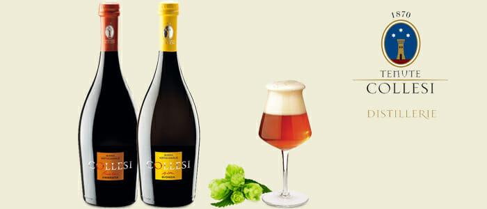 Collesi birra artigianale: bionda e ambrata