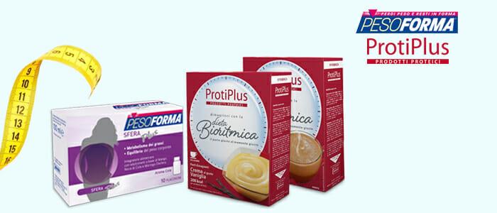 Promozione PesoForma e ProtiPlus