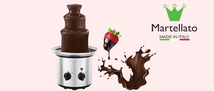 Martellato fontana per cioccolato professionale
