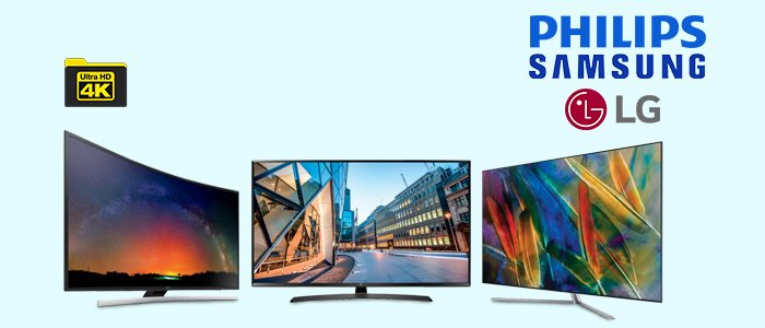 TV LED Ultra HD: Samsung, LG e Philips